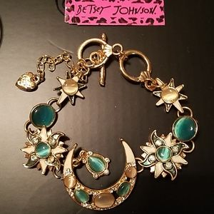 Betsey Johnson moon and stars